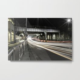 Summerhill Light-trails Metal Print