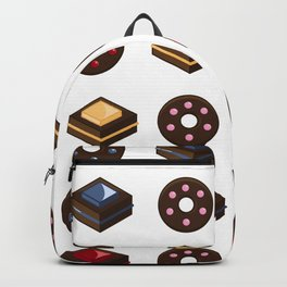 Mouth Watering Donuts and Cakelicious Backpack