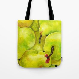 Fresh Pears Tote Bag