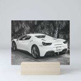 Italian Sports Car Mini Art Print