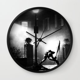 Exorcist Calling Wall Clock