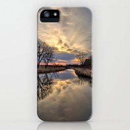 Easter River 3 iPhone Case