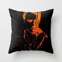 Lovelocked Black Throw Pillow
