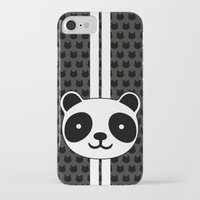 racing iPhone & iPod Cases featuring Racing Panda by XOOXOO