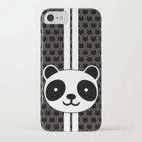 racing iPhone & iPod Cases featuring Racing Panda by XOOXOO
