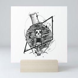 Brook Handmade Drawing, Made in pencil and ink, Tattoo Sketch, Tattoo Flash, Blackwork Mini Art Print