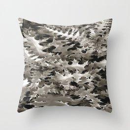 Cineraria Throw Pillow