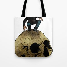 Leroy And The Giant's Giant Skull Tote Bag