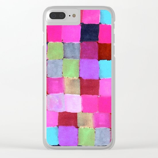 Colours passing through us Clear iPhone Case