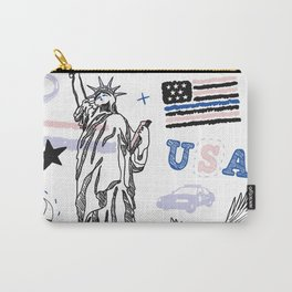 USA POLICE Carry-All Pouch