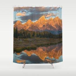 Sunrise On The Snake River Shower Curtain