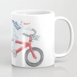 Walden's Red Bike Coffee Mug