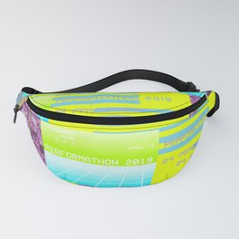 Perform-A-thon 2019 Official Print Fanny Pack