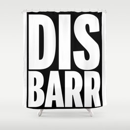 DIS-BARR Shower Curtain
