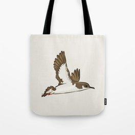 Simple Minimalist Manx Shearwater Flying Tote Bag