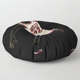 Air Jordan 1's Graphic Design Poster and Art Print Floor Pillow