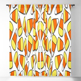 candy corn halloween candy candies Blackout Curtain
