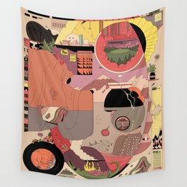 Ellipse Wall Tapestry