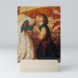 Dante Gabriel Rossetti Roman de la Rose 1864 Mini Art Print