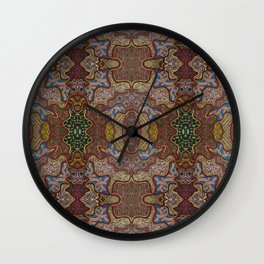 Texture Parade Wall Clock