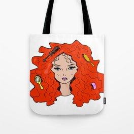 Redhead beauty Tote Bag