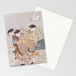 Tama River Stationery Cards