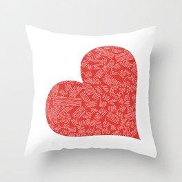 Heart (1) Throw Pillow