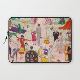 Sunday Afternoon in the Country, 1917 by Florine Stettheimer Laptop Sleeve