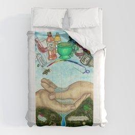 Ten of Cups (Amanda Palmer tarot deck) Comforters