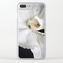 Wilted Orchid Pt 3 Clear iPhone Case