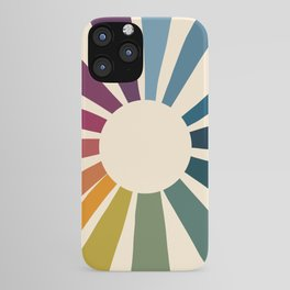 Retro Blossom iPhone Case