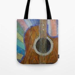 Guitar Sunshine Tote Bag