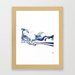 Water Nymph XIII Framed Art Print