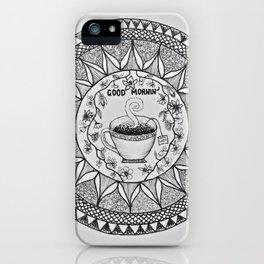 Wake up with a Cuppa iPhone Case
