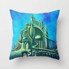 Mysterious Fathoms Below Throw Pillow