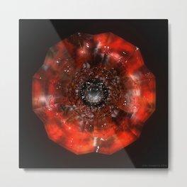 The Eye of Cyma: Fire and Ice - Frame 45 Metal Print