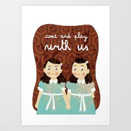 The Grady Twins Art Print