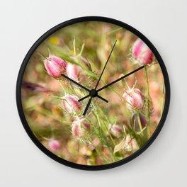 Pretty Nigella Wall Clock