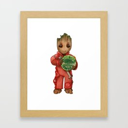 Save the trees Framed Art Print
