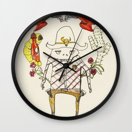 A New Sheriff's In Town Wall Clock
