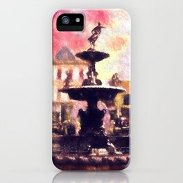Fountain Square Park iPhone Case