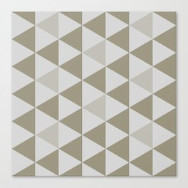 Great Triangle Pattern Canvas Print