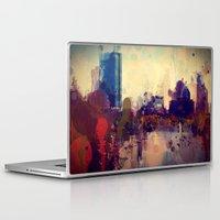 boston Laptop & iPad Skins featuring Boston  by Danielle DePalma