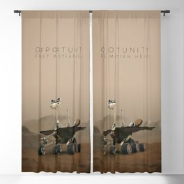 Opportunity / First Martian Hero Blackout Curtain