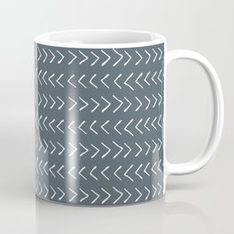 Arrows on Fiord Blue Coffee Mug
