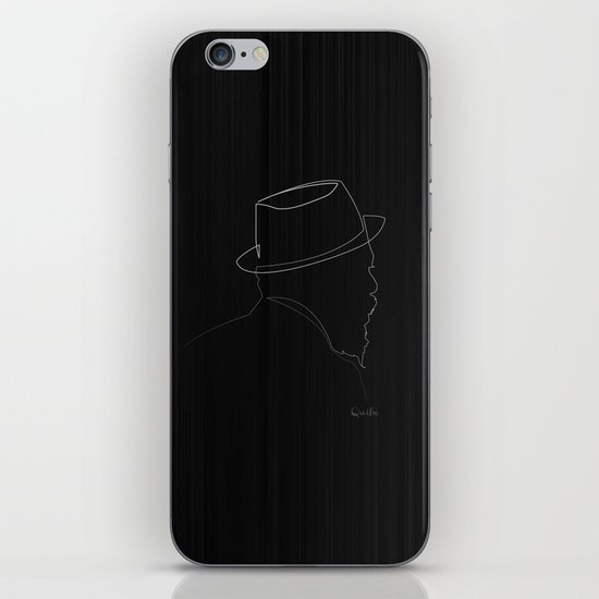 One line Thelonious Monk iPhone & iPod Skin