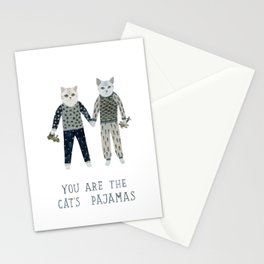 You are the Cat's Pajamas Stationery Cards