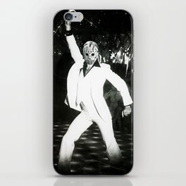 JASON VORHEES AS JOHN TRAVOLTA iPhone Skin