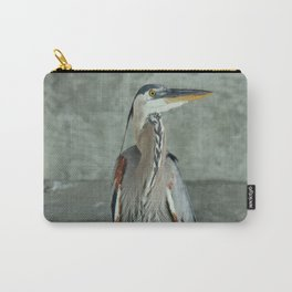 Great Blue Heron Photography Print Carry-All Pouch