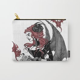 Inktober Demon Carry-All Pouch
